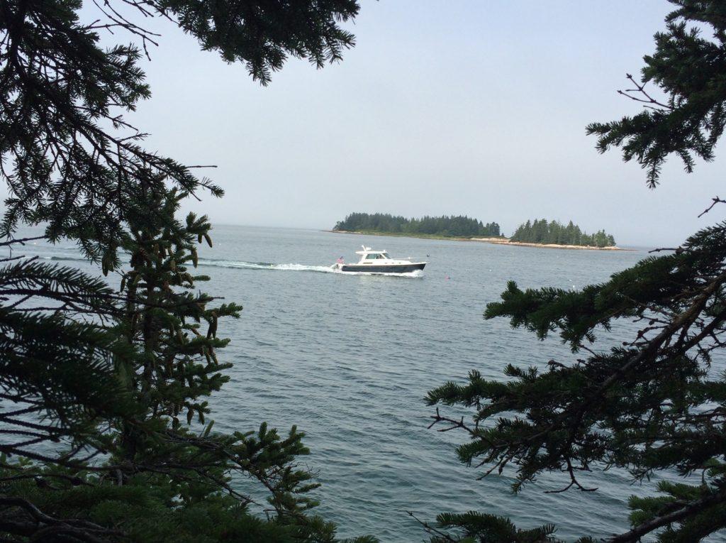 Boat passing land copy